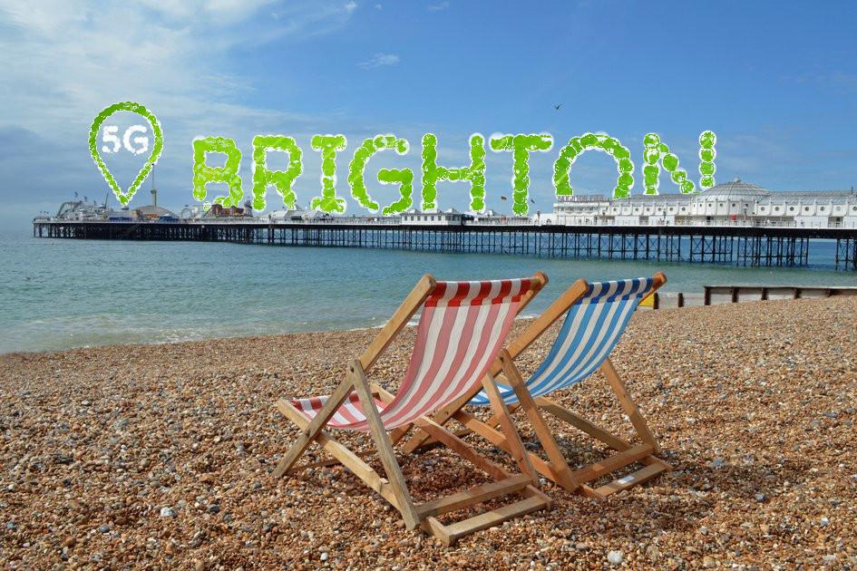 5G Brighton pier